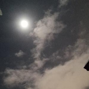 今夜の月は今年最後の満月です
