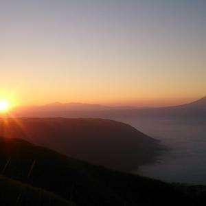 日の出+雲海