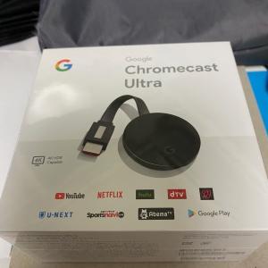 コストコ Chromecast Ultra 5980円