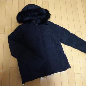 【GU】ダウンジャケット着てみました
