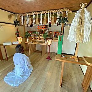 月次祭 令和三年六月十五日 光明稲荷神社 「日々に感謝に手を合わす」