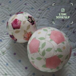 桜のサッカーボール