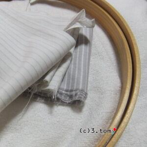 お疲れ補助布とフープ。[d-ring]