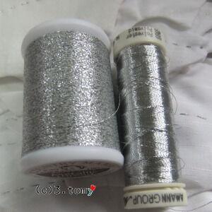 宿題、銀糸 vs. 銀糸。