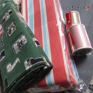 まだあった! 布・糸のお買い物。