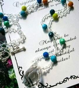 水晶ネックレス&タッセルネックレス