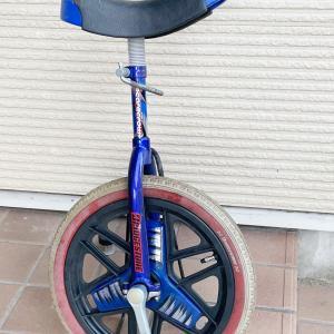 一輪車乗れるかな?