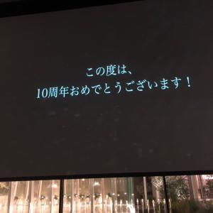 サプライズ映像 10th party
