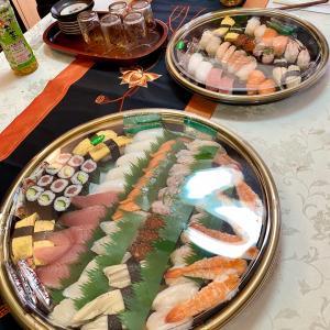 お寿司でお祝い☆