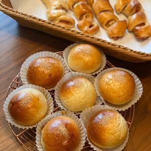 超お気に入りの桜餅入りパン