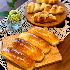 パンから作るホットドック