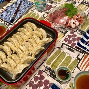 餃子&マンゴーパンナコッタ