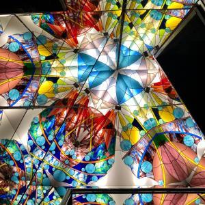 幻想的なガラスの世界