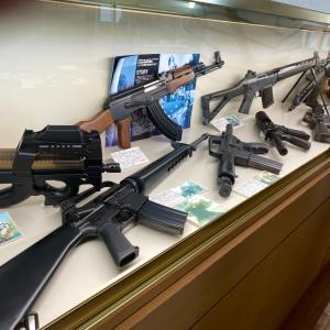 銃の展示&三ヶ根山スカイライン