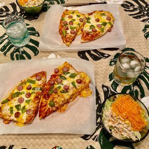 コストコの丸ピザ