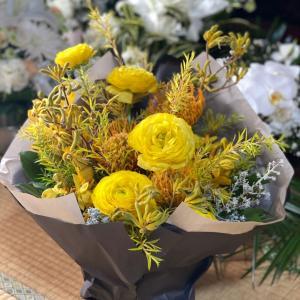 黄色のお花を送った日