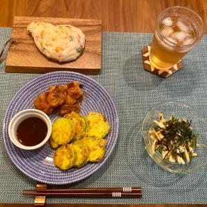 韓国野菜を使って作った料理
