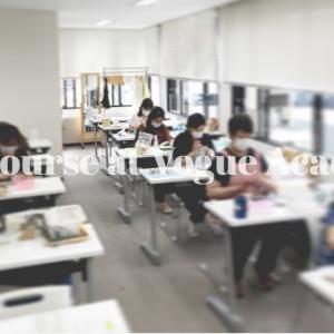 ヴォーグ学園東京校「ポーセラーツ講座」の日