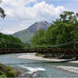 上高地散策 その2 河童橋~明神   令和3年6月