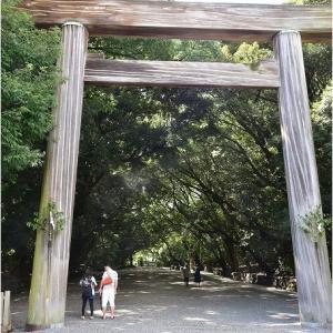 熱田神宮参拝    令和3年9月