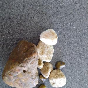 我が家のお子たちは 石がすき! 部屋のアチコチにある(笑)