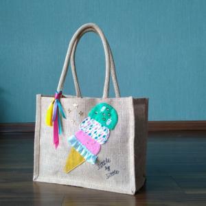 アイスクリームバッグはインスタライブで!!