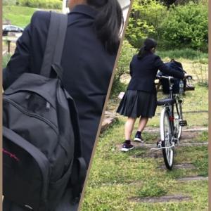 自転車通学始まる