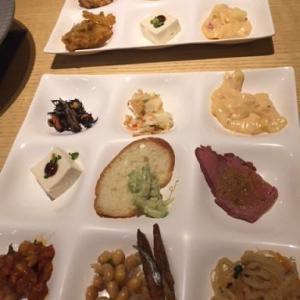 横浜で友達とご飯