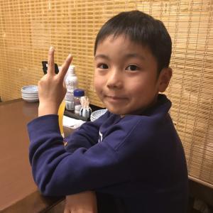 カイト君(7才)がホールインワン! Jan2019