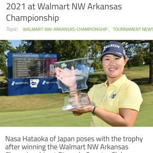 ナサちゃん優勝!!@WALMART NW ARKANSAS CHANPIONSHIP2021