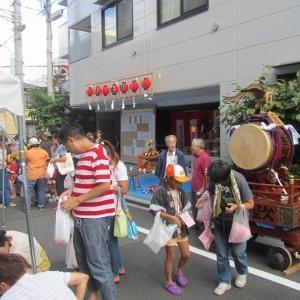 簸川神社のお祭りが始まりました