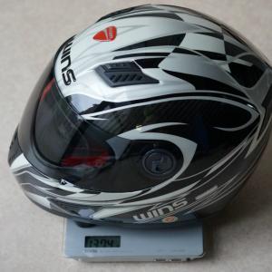 超軽量カーボンヘルメットの内装交換!+曼殊沙華