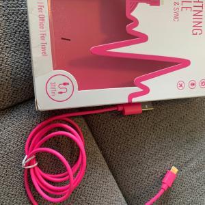 ピンクのチャージャー