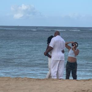 ハワイでの撮影
