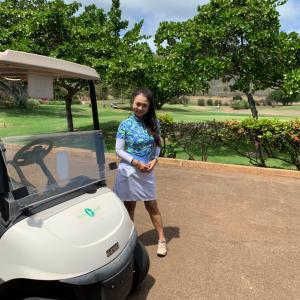 マダムゴルフ部 ハワイカイゴルフコース