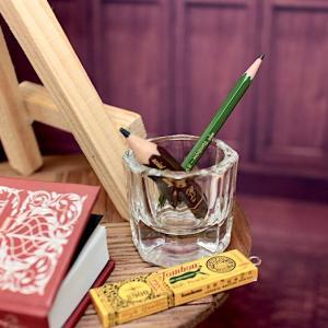 ユノア少年少女|ガチャ200円ちびた鉛筆・400円トンボ鉛筆