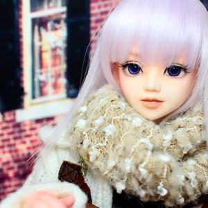ユノア少女|ゆるっと冬のお買い物