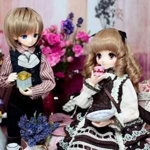 オビツ24・22|瑛理と楓のチョコレートカラーなコーデ