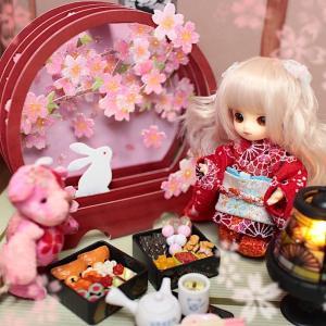 Brownie nene きらめく桜の小さなお花見