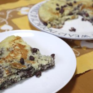 小豆漉しかすのパンケーキ、10代コーデ