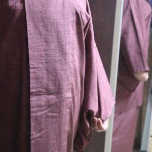たぶん練習縫い二部式雨コート、今年買ったお豆