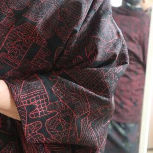 この上着の名前は何?、塩焼きサンマに山ワサビ