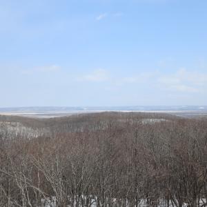 釧路湿原の展望、挽き肉じゃが蕪入、甘い納豆