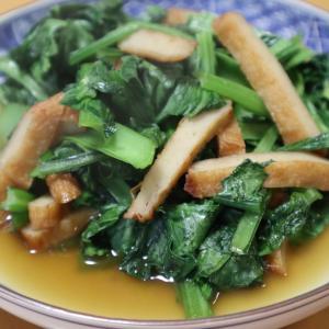 小松菜、釧路家庭菜園事情、鮭フレーク炊き込みおこわ