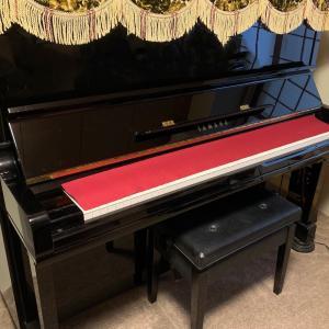 【日本生活】ピアノ下取りしてもらいました その2