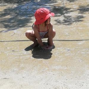 水遊び、泥遊び