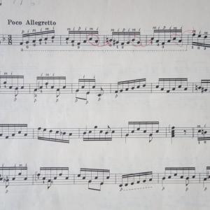 今練習している曲です。