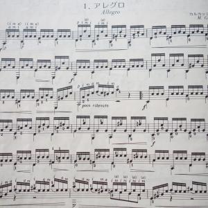 カルカッシ25のエチュード Op.60-7