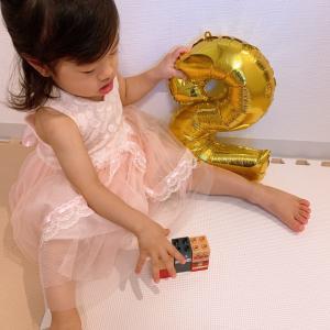 2歳の誕生日♡娘が2歳になりました!!