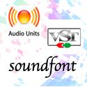 macで使えるsf2 player、Soundfont,VST,AU 簡単な解説